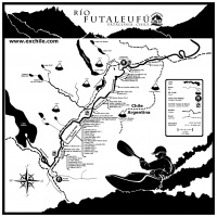 Detailed Futaleufu River Valley Map